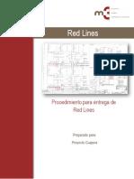 120080-M3P-RD-001 Rev. 0 Procedimiento Red Line