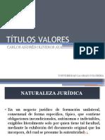 TÍTULOS VALORES (2)