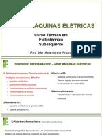 Aula 1 - Autotransformadores, TPs e TCs