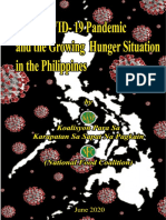 Covid-19 Pandemic and the Growing Hunger Situation in the Philippines