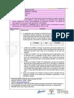 Ficha  Pedagógica  3ro de BGU FASE IV 03 al 05 de Junio - OLGA PATRICIA
