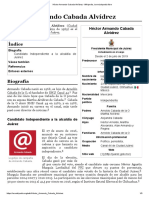 Héctor Armando Cabada Alvídrez - Wikipedia, la enciclopedia libre