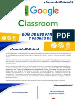 PDF Tutorial para padres-alumnos GoogleClassroom