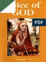 Voice of God Volume 3 - Kanchi Paramacharya 2009
