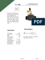 Water Flow Sensor Datasheet