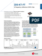 UBX-M8030-KT-FT_ProductSummary_(UBX-14001605)