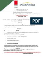 Contrat de financement n°003