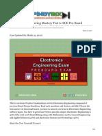 pinoybix.org-Electronics Engineering Mastery Test 6 ECE Pre-Board.pdf