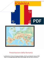 Thesis about Romania