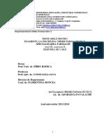 Grile Chimie Farmaceutica Anul III Sem II Andra Converted