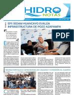 ACTIVIDADES TERCER TRIMESTRE EPS SEDAM HUANCAYO S.A.
