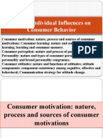 Chapter 5 Individual influences on consumer behavior (PU DS)565963786