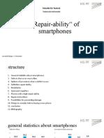 Repairability of smartphones Kopie