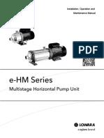 maintenance operation an pump manual