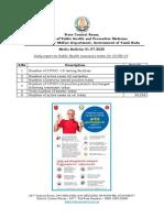 Media Bulletin 01 07 20 COVID 19 6 PM