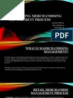 merchandising ppt