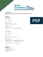 Examen - Perfectionnement Outils Logiciels (OL3) - S3 - ESIG