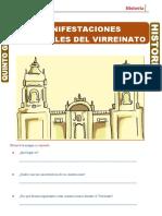 33. Manifestaciones Culturales del Virreynato