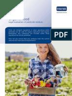 Intertek_Legal evaluation of pesticide residue_Organic_2016