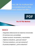 1. Evaluación cognitivo-conductual