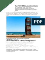Arte contemporânea word