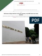 Bolsonaro afaga radicais no fim de semana, mas MEC deve ter nome técnico