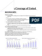 Initiation Coverage of United Breweries