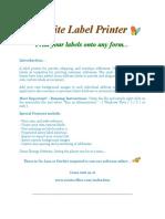 Read_Me_Label_Printer