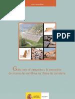 Guía para el proyecto y la ejecución de muros de escollera en obras de carretera