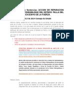 Recopilación de Sentencias- FALLA DEL SERVICIO POR USO EXCESIVO DE LA FUERZA
