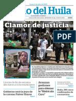 Julio 6 Diario del Huila