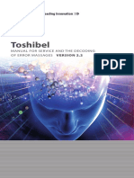 Toshiba - Manual for service Version 2.2