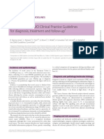 Rectal cancer- ESMO Clinical Practice Guidelines for diagnosis, treatment and follow-up