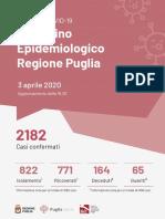 Bollettino epidemiologico Regione Puglia 03-04
