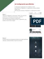 Manual de Configuración Gdmss para Móviles
