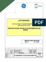 G09-PUD-110-CO-ACS-3954-TS_00_Especificación técnica de Movimientos de Tierra
