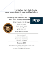 Property Tax Exemption Report
