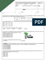 TESTE 1º BIMESTRE - F8105