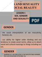 GENDER AND SOCIETY 1