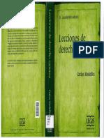 LECCIONES DE DERECHO ROMANO CARLOS MEDELLIN