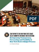 Budget Reform Report