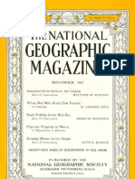 National Geographic Magazines for 1937-11