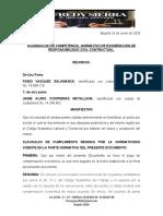 ACUERDO DE VOLUNTADES DE TRANSACCIÒN