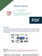 Robot sensor pp