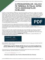 ÎN AȘTEPTAREA PRONUNȚĂRILOR, VÂLCOV ÎȘI PREGĂTEȘTE TERENUL ÎN ITALIA_ INTRĂ CU FIRMĂ PE PIAȚA ANGROSIȘTILOR ALIMENTARI DIN MILANO! - concretinolt.pdf