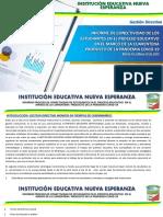 gestión directiva INENE 2020