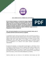 Declaracion Postnatal