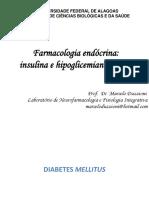 Farmacologia endócrina - insulina e hipoglicemiantes orais