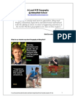 A Level Humanities Prospectus 2011 - Abbeyfield School