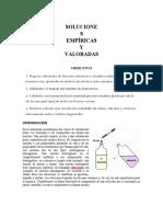 SOLUCIONES EMPÍRICAS Y VALORADAS